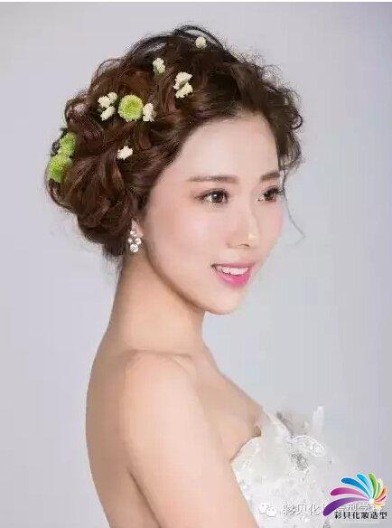 南阳化妆学校:唯美韩式新娘造型
